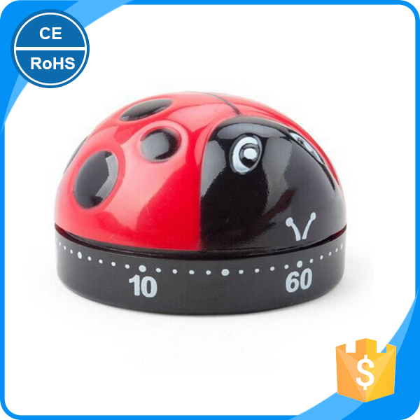 Children black and red insect mechanical programmable school bell timer