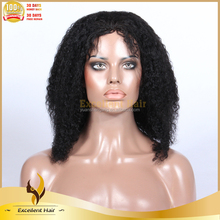 Trade Assurance African American China Alibaba Virgin Remy 100% Human Hair Full Lace Curly Afro Wigs For Black Women