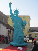 attractive advertising inflatable statue of liberty cartoon