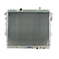 Aluminum hot selling radiator for toyota innova