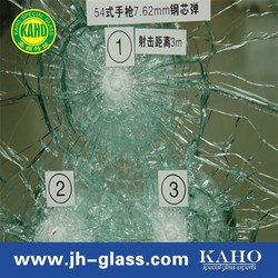 bullet proof glass for safety 2015