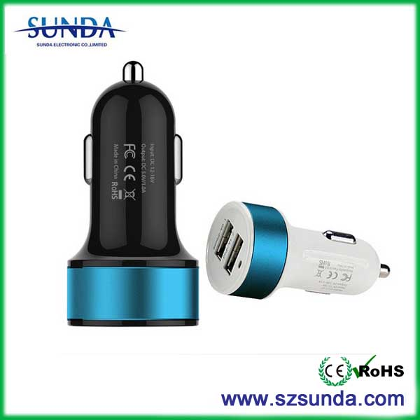 new innovative product ideas qc 2.0 car charger for smartphone android