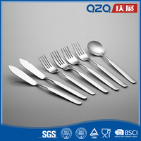 Delicate flatware set eco-friendly stainless steel tableware for german