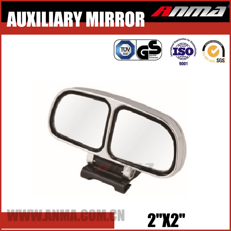 Universal clip on mirror blind spot side mirror wide angle compatible car rear view mirrors