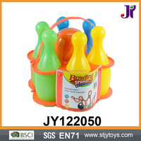 Outdoor toy kids plastic bowling set