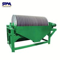 SBM low price wet magnetic separator machine,powder magnetic separator