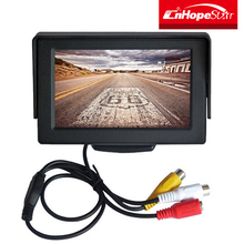 640x480 resolution 4.3 inch lcd security monitor with dash board