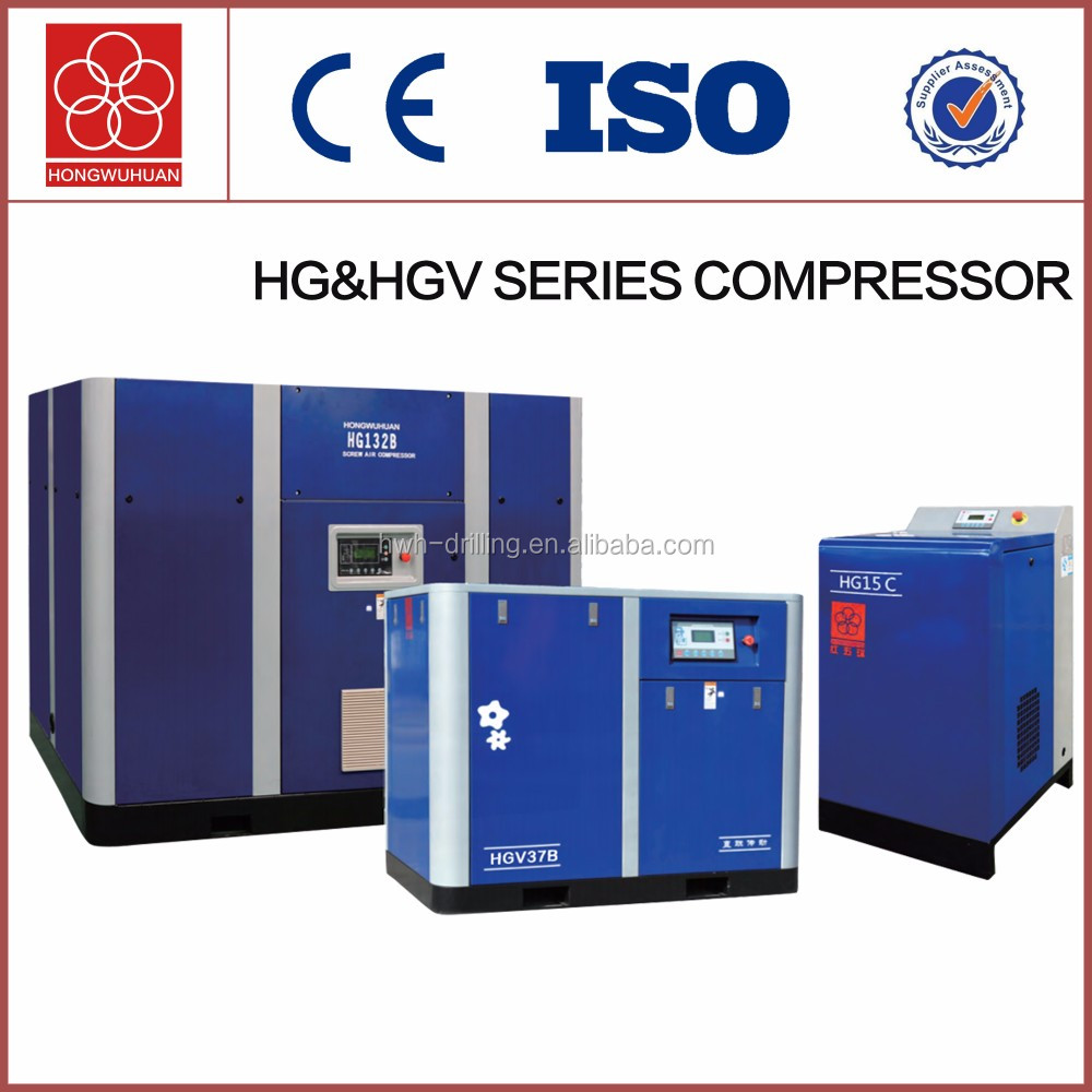HG75B-8 8 bar chinese air compressor compressor for sale 75kw motor