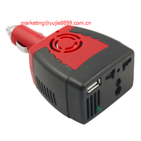 NEW Power Supply 150W 12V DC to 220V AC Car Power Inverter Adapter with USB Charger Port
