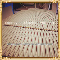 Raw MDF wave board for decorate or furniture making