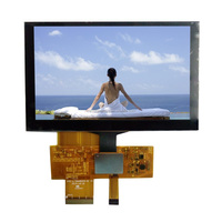 5 inch TFT LCD Module with full viewing angle 80/80/80/80, capactitive touch panel
