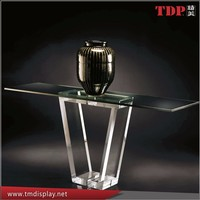 High quality Classical modern perspex/plexiglass dining room table,fashion custom transparent acrylic table