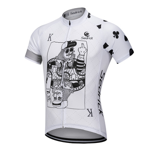 Manufacturer Custom No Minimum Sublimation Printing Cool Design Crazy Bicycle  Clothing Cycling Jerseys 505ca8c82