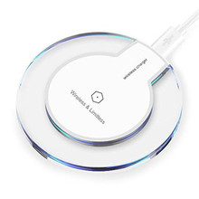 Evergreentech Best Wireless Charger Auto Safety Qi Universal Wireless Charging Pad for for iPhone 8 or iPhone X