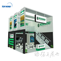 Detian Offer 20ft Advertising modular Double Deck Exhibition Booth Design