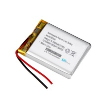 li-ion 803040 3.7v 1000mah rechargeable lithium polymer battery