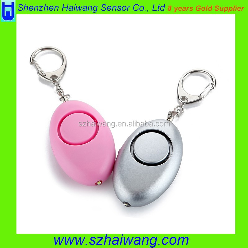Promotional Kids and Ladies Safety Protection Personal Alarm 130db