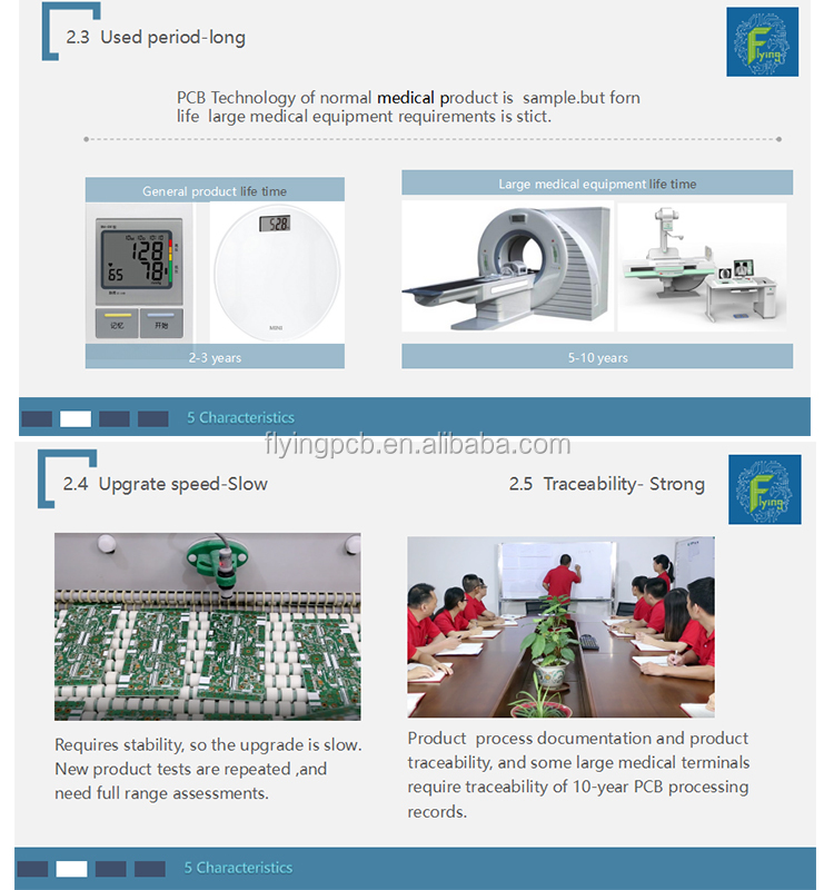 electronic pcb prototype boards manufacturer for medical equipment