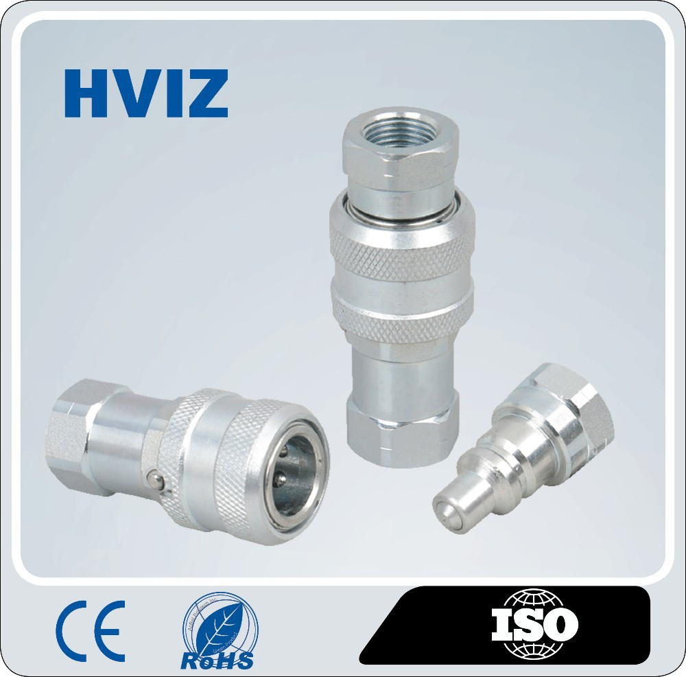 HZ-T1 Close Type Super High Pressure Hydraulic Quick Release Coupling /air hose quick coupler(Steel)