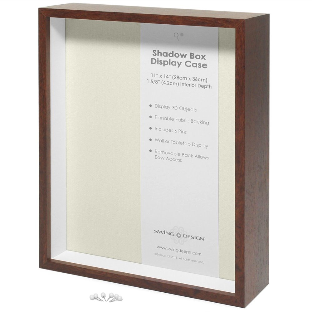 11x14 Nut-brown And Black Shadow Box Picture Frame With Mat And Prints/Shadow Box Wholesale