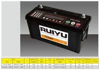 12V100AH N100MF KOREAN QUALITY LEAD ACID AUTO BATTERY CAR BATTERY