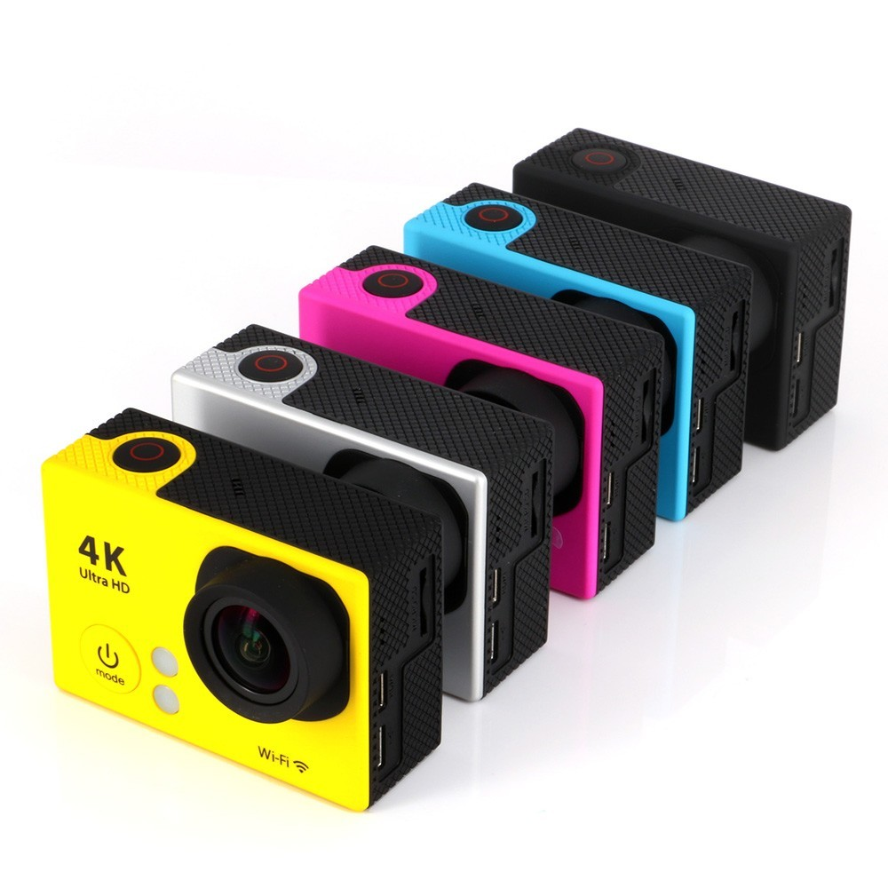 2 Inch Action Camera 4K WiFi 1080P 170D Lens LCD 30m Waterproof Camara HD DV Cam With Remote Control
