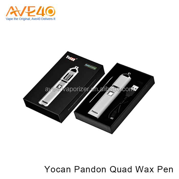 E Cigarettes High Quality Yocan Pandon Quad Wax Pen VS wax vaporizer kanger protank