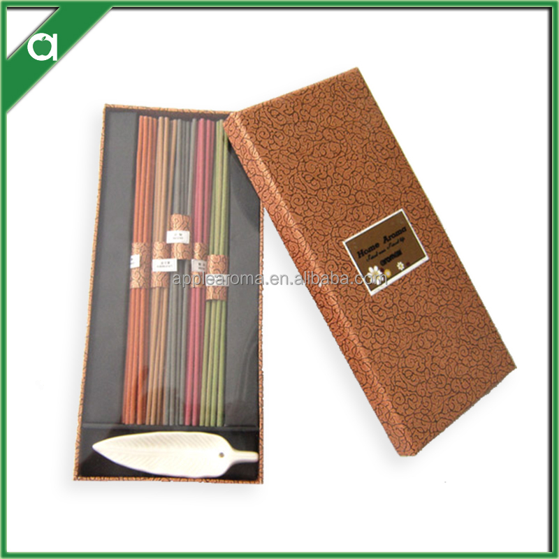 wholesale colorful incense sticks gift box