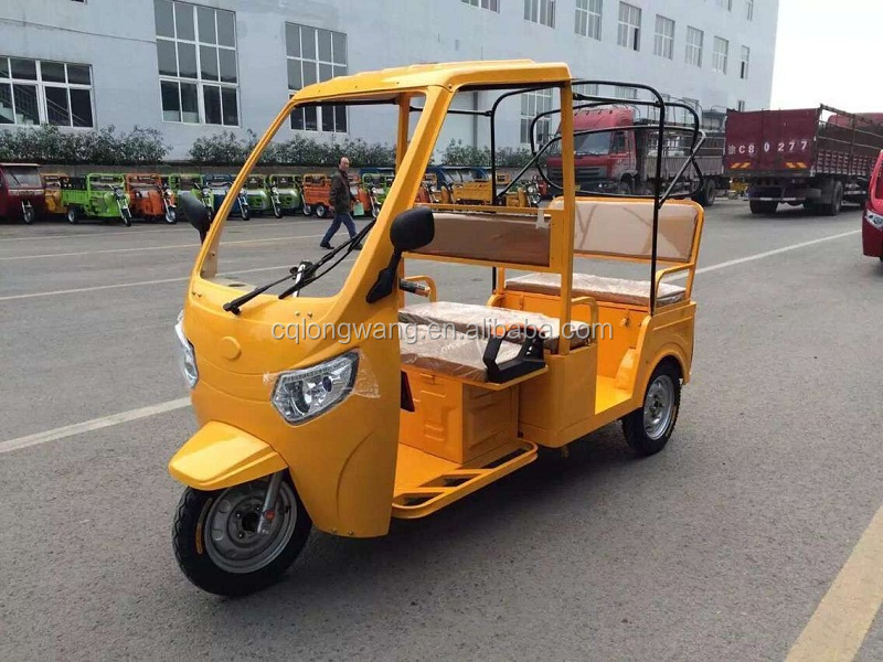 1000W taxi passenger electric tricycle/High quality electric brushless motor scooter/Factory price bajaj three wheeler price
