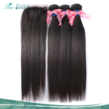 Swan high density wholesale 10A grade brazilian extension human straight hair