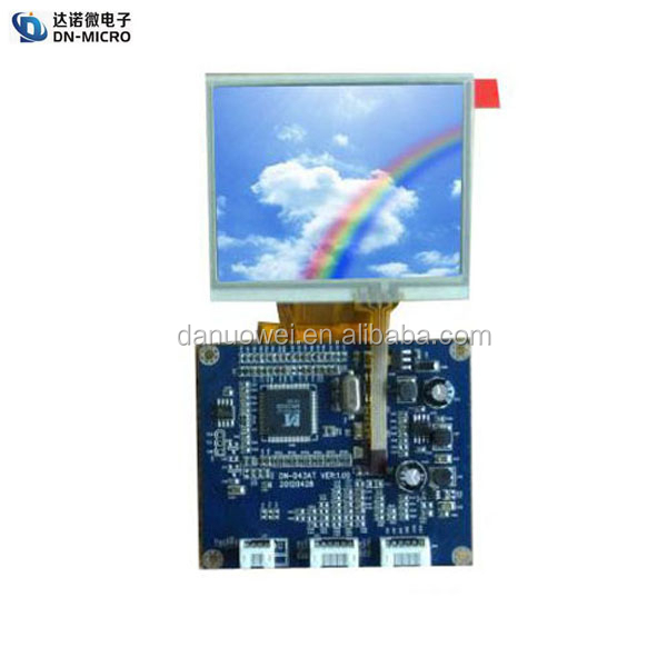 3.5 inch touch screen 4 wire for video doorphone