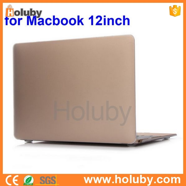 "Frosted Folio Hard PC Case for Apple The New Macbook 12'' inch Retina Display Laptop, for Apple The New Macbook 12"" Case"