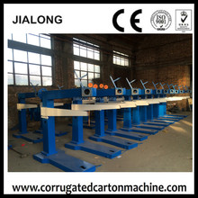 stapler used corrugated carton box making machine /manual corrugated carton box stapling