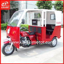 China Zongshen Engine Tricycle For Passenger with Two long seats