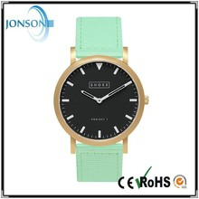 New 39mm case personalized logo top 100 watches brands with black dial