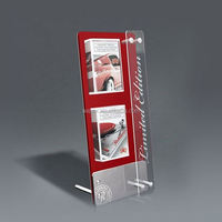Manufacturer Customize 10ml E liquid Juice Bottles Display Stand E cigarette Display Rack Acrylic Vape Ego Display Stand