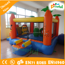 inflatable bouncer obstacle,mini inflatable park, inflatable bouncer for sale