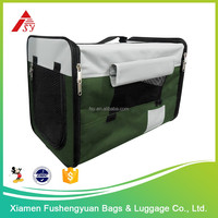 Wholesale direct from China 600D polyester pet suitcases dog bag / pet cage