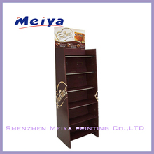 China promotional custom made cardboard chocolate/candy display stand for retail