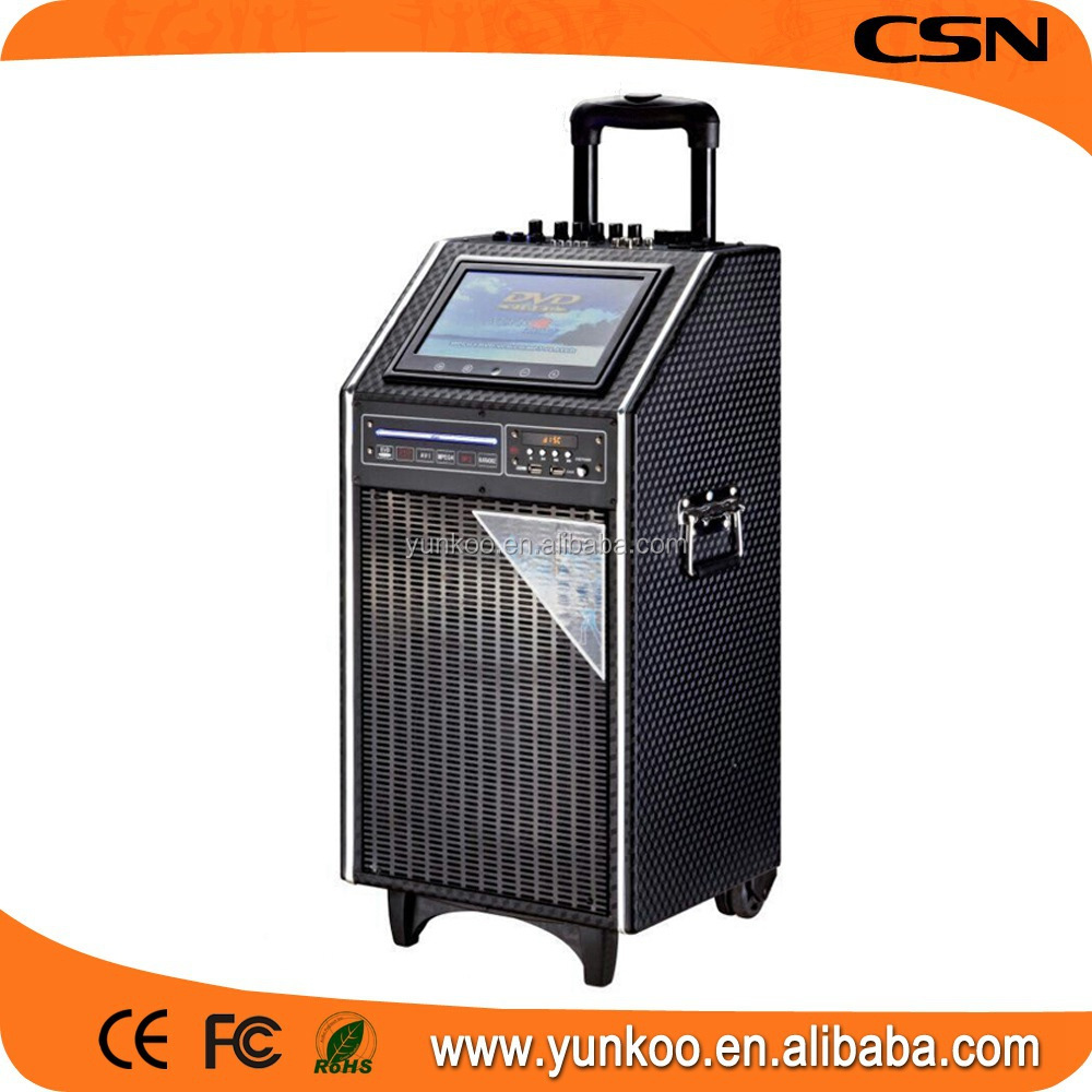 supply all kinds of music instruments speaker,mega bass Yunkoo speaker,solar speaker bag