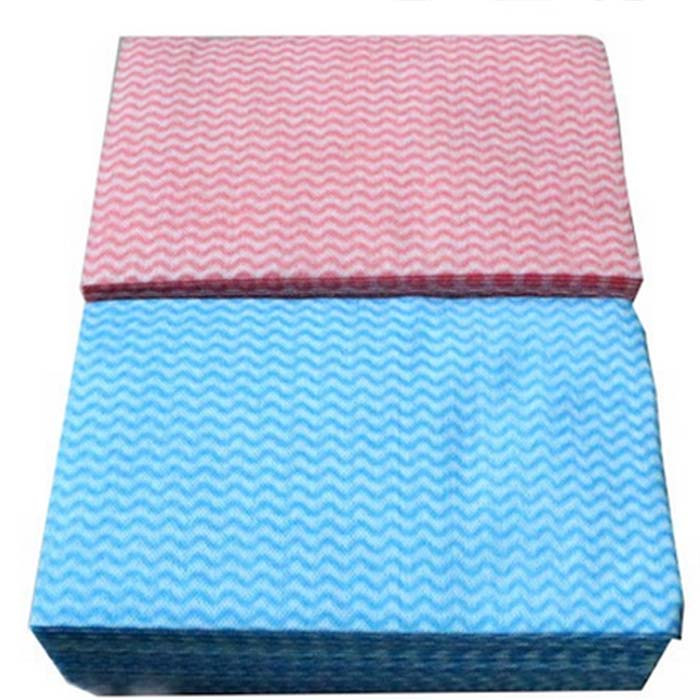 High Liquid Absorbency Antibacterial Spunlace Disposable wiping Cloths