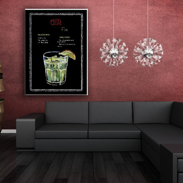 Wine and wine glass decorate canvas art wall painting designs for living room