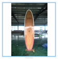 factory price cheap 10ft sup paddle board with bamboo veneer