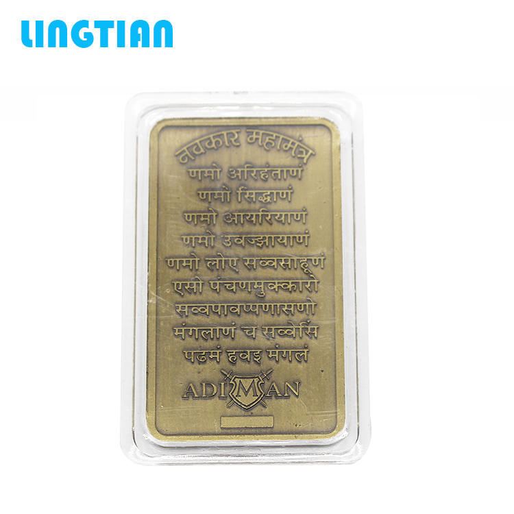 Factory Supply Wholesale Hot Sale Copper Bullion Bars