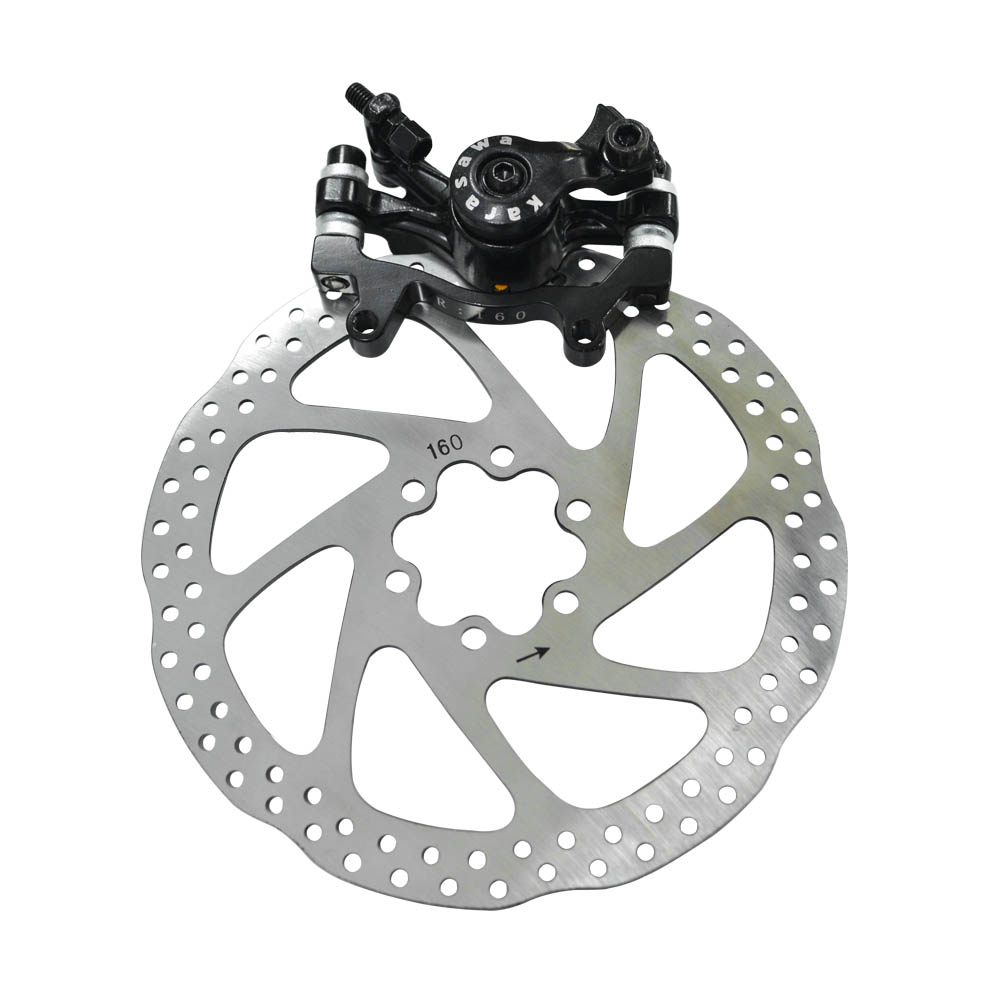 Zoom Black Mechanical Disc Brake for Road Bicycle