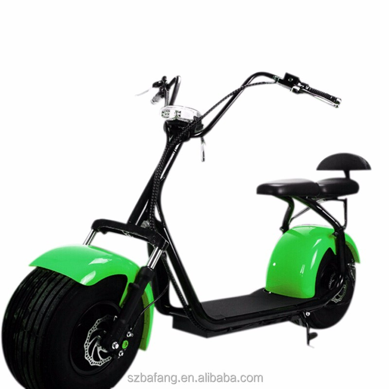 free tax Harley electric bike scooter wide tires Storage battery car motocicleta citycoco with kids seat