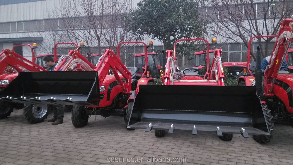 Small Farm tractor Foton 504 ,Samll tractor front end loader TZ04D,4 in 1bucket TZ04D for Foton 504 tractor