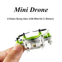 6 propellers 2.4G mini RC air fun helicopter drone with low voltage protection