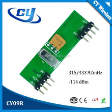 CY09R ASK/OOK RF Wireless Receiver module Circuit Board 433MHz