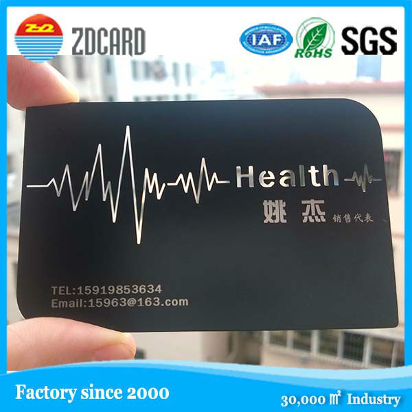 biggest factory in China! Cheap Stainless steel metal business card